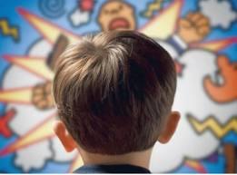 تأثير الأفلام الكرتونية العنيفة على شخصية الطفل
